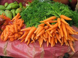benefits of carrots for skin