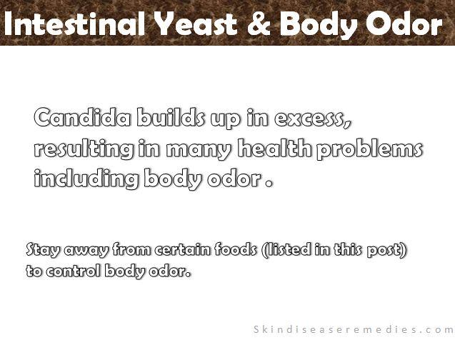 candida body odor