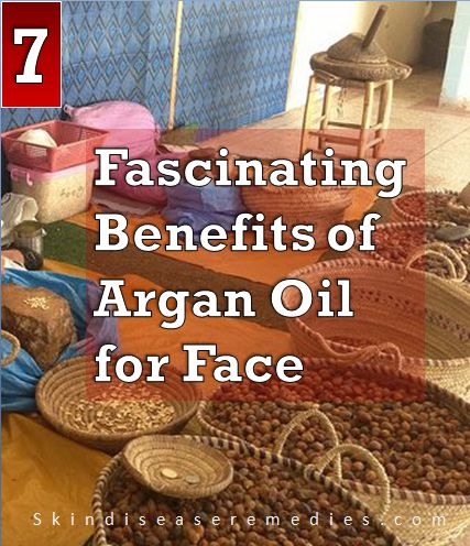 benefits of argan oil for face