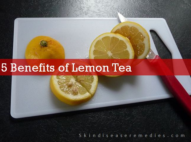 benefits of lemon tea for skin