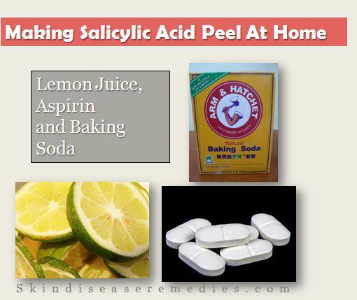 salicylic acid peel at home