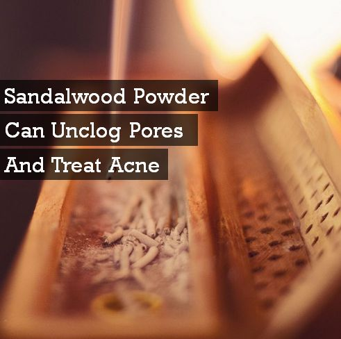 sandalwood powder and oil for acne