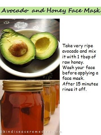 Avocado facial recipes for acne