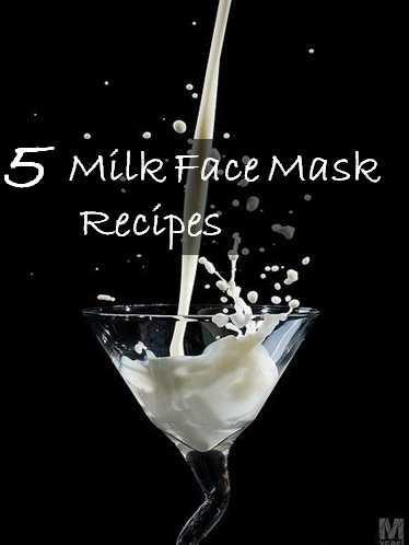 milk face mask