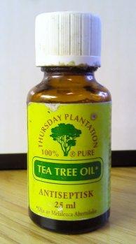 tea tree oil for back acne