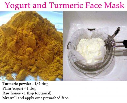 Turmeric and Yogurt Face Mask Benefits - Skin Disease Remedies