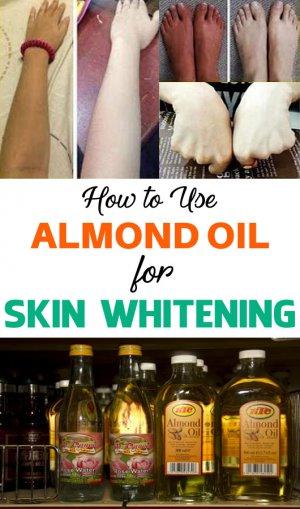 does almond oil lighten skin