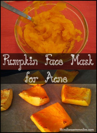 pumpkin face mask for acne