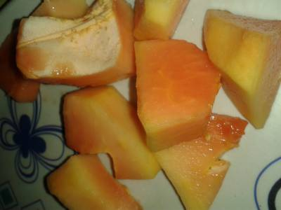 Papaya facial mask Homemade