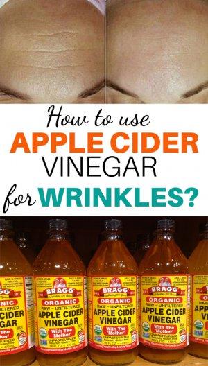 How To Use Apple Cider Vinegar For Wrinkles On Face  U0026 Eye