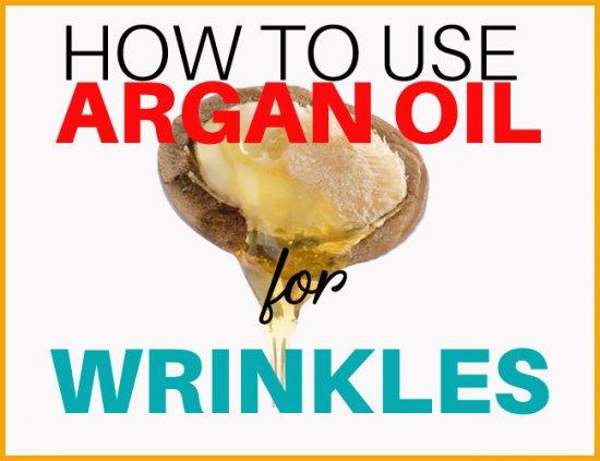 argan oil for wrinkles