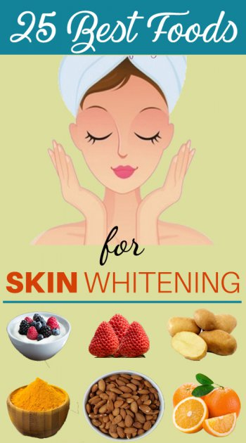 best foods to whiten skin quickly