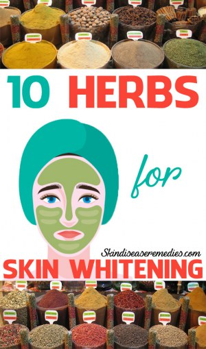herbs for skin whitening