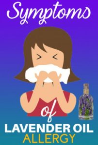 lavender oil allergy symptoms