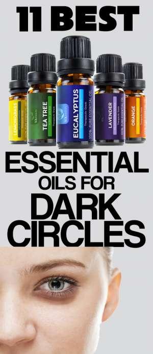 best essential oils for dark circles