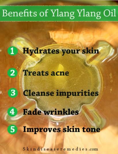 3 Benefits Of Ylang Ylang Oil For Skin Skin Disease Remedies